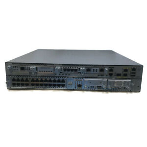 Cisco 2951 Integrated Services Router with 24 port and SRE modules