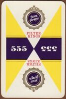 Playing Cards 1 Single Card Old STATE EXPRESS 555 CIGARETTES Advertising Tobacco