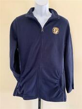 New St. Louis Blues Mens Size L Large Blue Majestic Full Zip Jacket