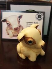 Harmony Kingdom / Ball Pot Bellys 'Spotsie' Fawn Deer, Retired New In Box Nib