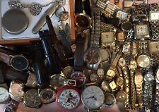 Junk Drawer Watch Lot Timepieces Colibri, Grennen,Louis Bernet Adolfo, 85+ Piece