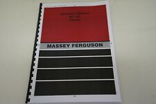 Massey Ferguson MF135 Operators Manual