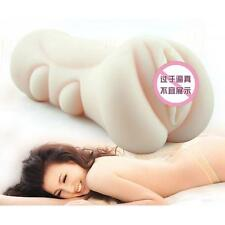4D High Quality silicone Masturbation cup Male Masturbator Vagina Pocket Pussy