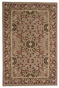 Indian Handmade Large Wool Carpet Oriental Rug 5' X 8' Tufted Antique Area Rugs