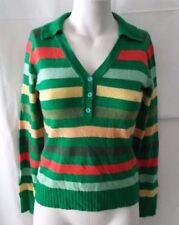 maglia pullover golfino lana e seta Silvian Heach donna taglia S
