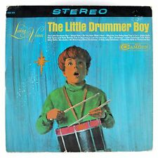 LIVING VOICES The Little Drummer Boy LP ORIGINAL 1965 HOLIDAY VINYL STEREO XMAS