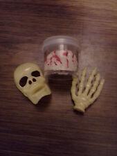 Halloween Accessories: Brain, Skeleton Hand/Face - Barbie, Monster High, Tyler