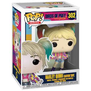 Funko POP! Heroes: Birds of Prey Harley Quinn Caution Tape Vinyl Figure - #302