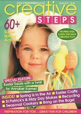 Creative Steps magazine - SPRING 2016 - fun springtime activities for kids