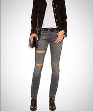 R13💭NWT! Skinny Jeans, $398 Barney's NY Sz 25 0/2 Grey SKATE Made In Italy!