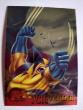 1995 X-Men Chromium Fleer Ultra Wolverine #13
