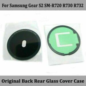 Back Rear Hülle Gehäuse Glas Cover Case Für Samsung Gear S2 SM-R720 SM-R730/R732