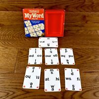 Vintage Waddingtons My Word Card Game 1983 letters & words Family game Vgc