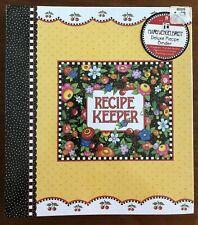 So Breit Mary Engelbreit Recipe Keeper Organizer Binder Magnets & Notepad Book