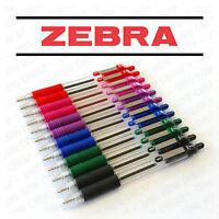 Zebra Z-Grip Z Grip Retractable Ballpoint Pens - 12 Pack = 2 of Each Colour