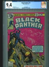 Black Panther #13 CGC 9.4 (1979) Jerry Bingham & Bob Layton Cover White Pages