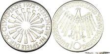 elf West Germany 10 Mark 1972 G Olympic Games in Munchen  Munich