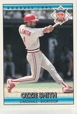 FREE SHIPPING-MINT-1992 Donruss St. Louis Cardinals #423 Ozzie Smith ALL STAR