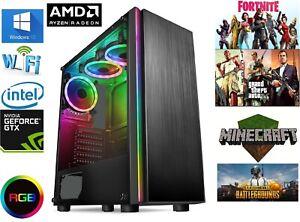 Gaming Computer PC AMD Ryzen 5 3600, 16GB RAM, 480GB SSD, GTX 4gb 1650 DDR6
