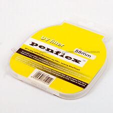 Slim Penflex 58mm Ultra-Violet Haze UV Filter Lens Protector
