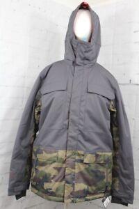 686 Men's Hydrastash Canteen Insulated Snow Jacket Large, Dark Camo New 2020