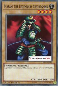 Speed Duel - Masaki the Legendary Swordsman - C - 1ed - SS02-ENB04