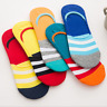 5/10 Pairs Mens Cotton Invisible Nonslip No Show Loafer Boat Low Cut Liner Socks