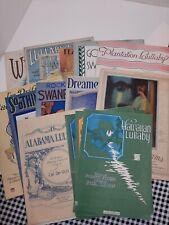 Lot Of 16 Vintage Lullabys Sheet Music 1900-1940's