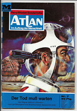 Atlan Nr.7 von 1970 - TOP Z1 Science Fiction MOEWIG ROMANHEFT