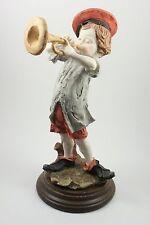 Giuseppe Armani Figurine Boy with Trumpet Mint WorldWide