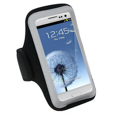 GYM WORKOUT NEOPRENE ARMBAND BLACK HTC ONE X EVO4G LTE
