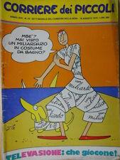 Corriere dei Piccoli 33 1974 [C22]