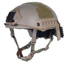 Military Tactical Airsoft Paintball FMA maritime Helmet DE T837 L/XL