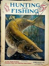 Vintage Hunting & Fishing Magazine July 1928 B Great Cover Sporting Jem172