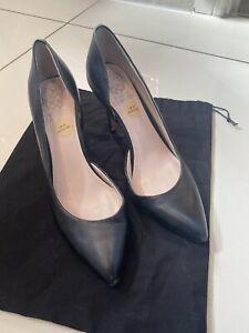 Vince Camuto Cut Away Court Shoes Black Size 5