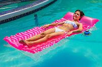 "Intex 85""x35"" Roll Up Fashion Swimming Pool Floating Lounge Mat 58807EP"