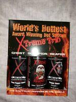 World's Hottest Hot Sauce Gift Set, Elijah's Xtreme Award Winning Variety Pack