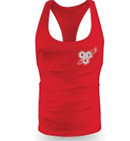 BSN Red String Vest - Medium Suitable for all different types of sports training