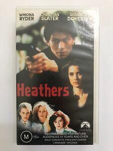 Heathers (1988, VHS, Winona Ryder, Christian Slater)