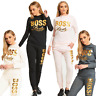 WOMENS LADIES PLUS SIZE BOSS LADY CUSTOMIZED TRACKSUIT 8 TO 26