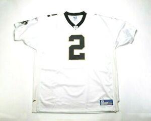 VINTAGE 2002 REEBOK NFL Authentic Jersey R11602W Aaron Brooks/New Orleans Saints