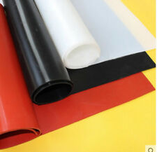 500*500 mm 2 mm Silicone Rubber Plate Sheet Black Heat Resistant