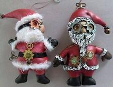 "*New* Cloth Folk Art Doll Pattern ""Santa Ornaments"" By Susan Barmore"