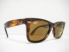 Ray Ban Wayfarer RB2140 954 Light Tortoise / Brown 50mm NEW AUTHENTIC SUNGLASS