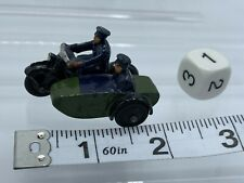 Vintage Dinky Toys By Meccano Police Motorcycle & Side Car Police Patrol Nice!