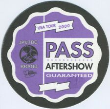 Jimmy Page & Black Crowes 2000 Backstage Pass Aso