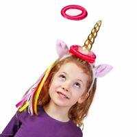 Novelty Unicorn Hoopla Birthday Hen Party Fun Game - Boxed