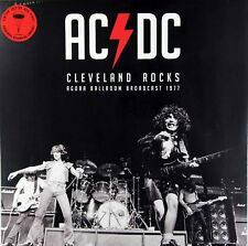 AC/DC - Cleveland Rocks Live 1977 RED COLOURED vinyl LP IN STOCK NEW/SEALED