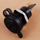 12v 24v Waterproof Power Motorcycle Boat Car Cigarette Lighter Socket Plug