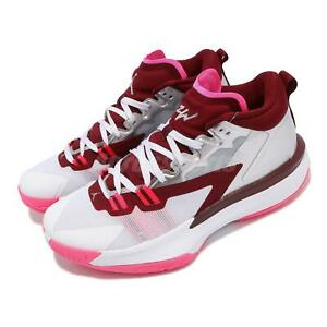 Nike Jordan Zion 1 PF Williamson Marion White Silver Men Basketball DA3129-100
